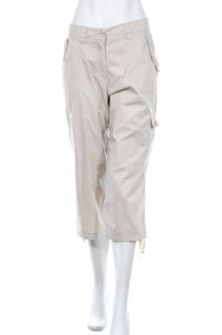 Дамски спортен панталон Crane, Размер L, Цвят Бежов, Памук, Цена 11,81лв.