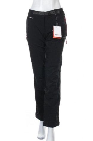 Γυναικείο αθλητικό παντελόνι Trangoworld, Μέγεθος L, Χρώμα Μαύρο, 54% πολυαμίδη, 38% πολυεστέρας, 8% ελαστάνη, Τιμή 32,51€