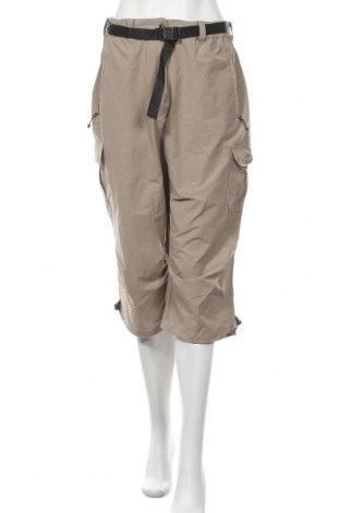 Дамски спортен панталон Trevolution, Размер XL, Цвят Бежов, 82% полиестер, 12% памук, 6% еластан, Цена 8,19лв.