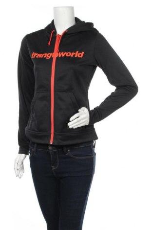 Γυναικείο φούτερ Trangoworld, Μέγεθος S, Χρώμα Μαύρο, 100% πολυεστέρας, Τιμή 39,89€