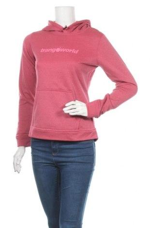 Γυναικείο φούτερ Trangoworld, Μέγεθος S, Χρώμα Ρόζ , 100% πολυεστέρας, Τιμή 11,97€