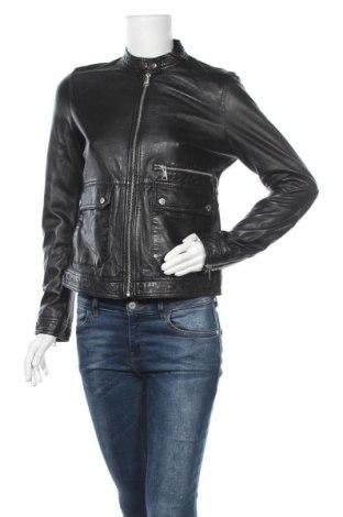 Γυναικείο δερμάτινο μπουφάν Oakwood, Μέγεθος S, Χρώμα Μαύρο, Γνήσιο δέρμα, Τιμή 107,91€