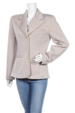 Дамско сако Armani Jeans, Размер L, Цвят Бежов, Полиестер, Цена 50,40лв.