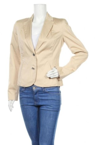 Дамско сако Armani Jeans, Размер M, Цвят Бежов, 98% памук, 2% еластан, Цена 53,10лв.