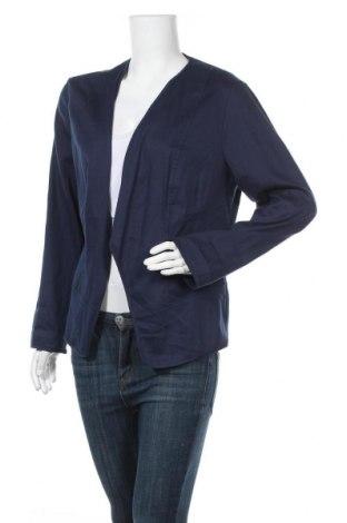 Дамско сако Betty & Co, Размер XL, Цвят Син, 54% памук, 42% вискоза, 4% еластан, Цена 21,32лв.