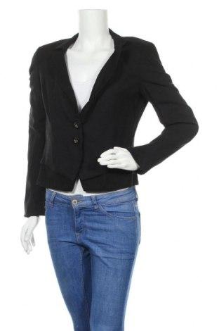 Дамско сако Boss Orange, Размер L, Цвят Черен, 55% вискоза, 40% вълна, 5% еластан, Цена 40,32лв.