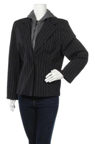 Дамско сако Infinity, Размер XL, Цвят Черен, Полиестер, вискоза, акрил, Цена 7,09лв.