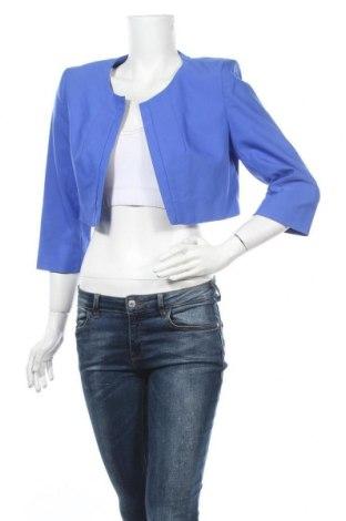 Дамско сако Jacqueline Riu, Размер L, Цвят Син, 55% памук, 40% полиестер, 5% еластан, Цена 25,99лв.