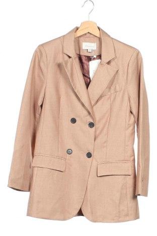 Γυναικείο σακάκι La Morena, Μέγεθος XS, Χρώμα  Μπέζ, Πολυεστέρας, Τιμή 25,52€