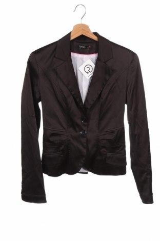 Дамско сако Lynne, Размер XS, Цвят Черен, 56% полиестер, 38% памук, 6% еластан, Цена 19,32лв.