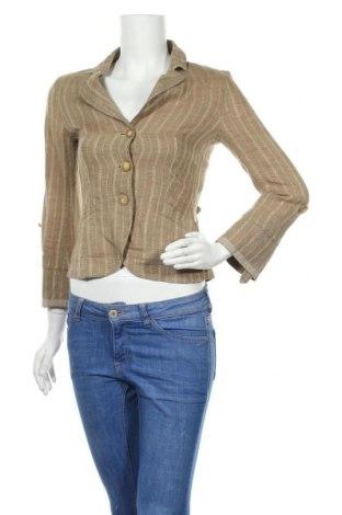 Дамско сако Max&Co., Размер XS, Цвят Кафяв, Лен, Цена 30,89лв.