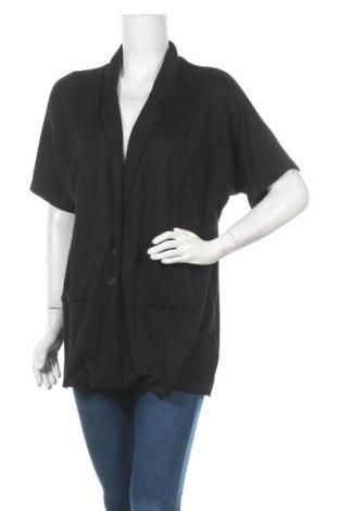 Дамско сако Maxi Blue, Размер XL, Цвят Черен, 76% вискоза, 22% полиестер, Цена 5,78лв.