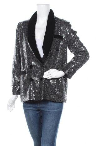Γυναικείο σακάκι Zara Trafaluc, Μέγεθος S, Χρώμα Ασημί, Τιμή 8,05€
