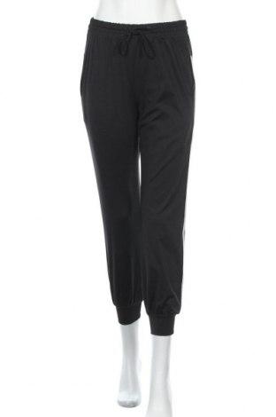 Дамско спортно долнище, Размер S, Цвят Черен, 75% полиестер, 25% памук, Цена 8,09лв.