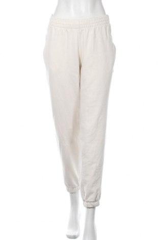 Γυναικείο αθλητικό παντελόνι Adidas Originals, Μέγεθος M, Χρώμα Εκρού, Βαμβάκι, Τιμή 24,89€