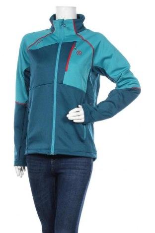 Γυναικείο μπουφάν αθλητικό Ternua, Μέγεθος M, Χρώμα Μπλέ, 94% πολυεστέρας, 6% ελαστάνη, Τιμή 35,72€