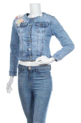 Γυναικείο μπουφάν Anany, Μέγεθος S, Χρώμα Μπλέ, 71% βαμβάκι, 25% πολυεστέρας, 3% βισκόζη, 1% ελαστάνη, Τιμή 26,68€