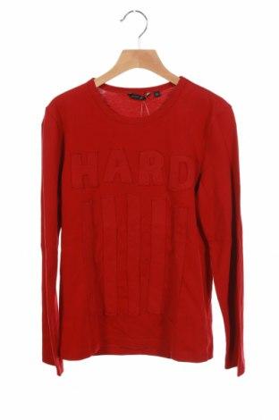 Детска блуза Antony Morato, Размер 9-10y/ 140-146 см, Цвят Червен, Памук, Цена 13,80лв.
