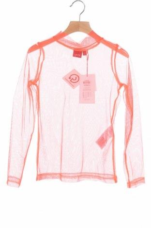 Детска блуза LMTD, Размер 8-9y/ 134-140 см, Цвят Оранжев, Полиестер, Цена 2,00лв.