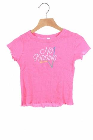Детска блуза Lefties, Размер 3-4y/ 104-110 см, Цвят Розов, Памук, Цена 7,68лв.