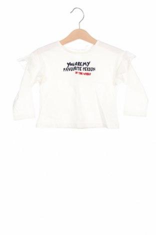 Детска блуза Lft, Размер 3-6m/ 62-68 см, Цвят Бял, Памук, Цена 8,70лв.