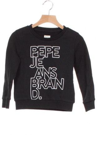 Παιδική μπλούζα Pepe Jeans, Μέγεθος 3-4y/ 104-110 εκ., Χρώμα Μαύρο, Βαμβάκι, Τιμή 24,43€