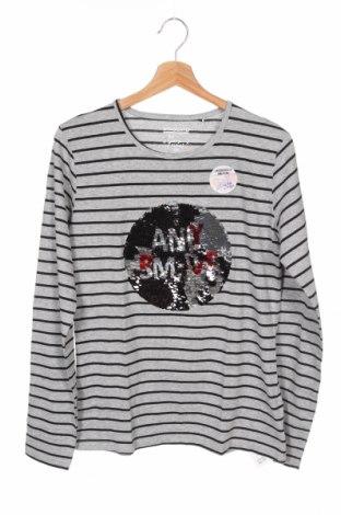 Детска блуза Staccato, Размер 15-18y/ 170-176 см, Цвят Сив, 85% памук, 15% вискоза, Цена 14,40лв.