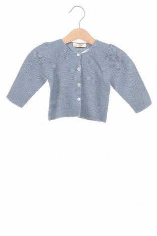 Pulover cu nasturi pentru copii Lola Palacios, Mărime 18-24m/ 86-98 cm, Culoare Albastru, Acrilic, Preț 34,21 Lei