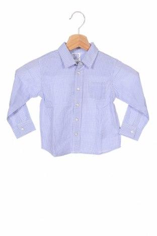 Детска риза Chicco, Размер 18-24m/ 86-98 см, Цвят Син, Памук, Цена 13,86лв.