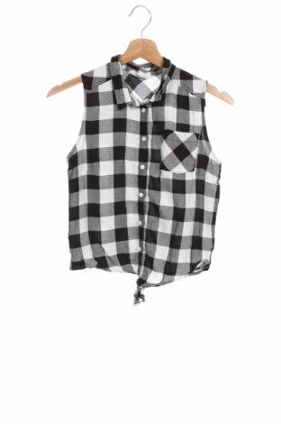 Παιδικό πουκάμισο H&M, Μέγεθος 14-15y/ 168-170 εκ., Χρώμα Μαύρο, Βισκόζη, Τιμή 4,73€