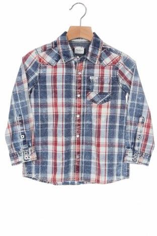 Παιδικό πουκάμισο Pepe Jeans, Μέγεθος 3-4y/ 104-110 εκ., Χρώμα Πολύχρωμο, Βαμβάκι, Τιμή 13,52€