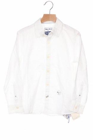Παιδικό πουκάμισο Pepe Jeans, Μέγεθος 7-8y/ 128-134 εκ., Χρώμα Λευκό, Βαμβάκι, Τιμή 14,25€
