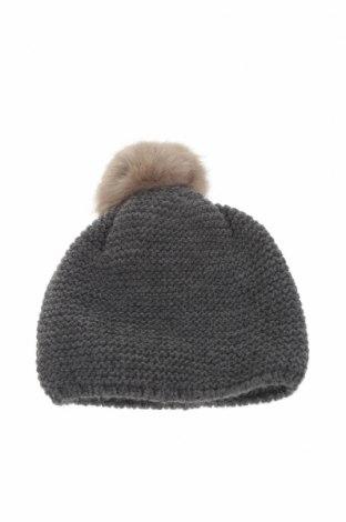 Детска шапка Lola Palacios, Цвят Сив, Акрил, Цена 7,84лв.