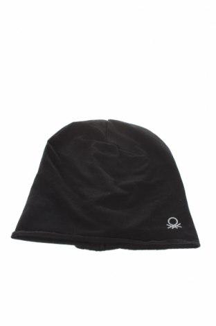 Dětská čepice  United Colors Of Benetton, Barva Černá, 95% bavlna, 5% elastan, Cena  348,00Kč