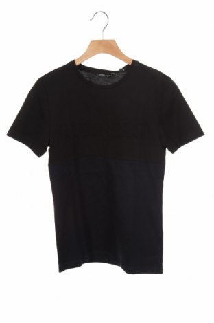 Детска тениска Antony Morato, Размер 9-10y/ 140-146 см, Цвят Черен, Памук, Цена 14,70лв.