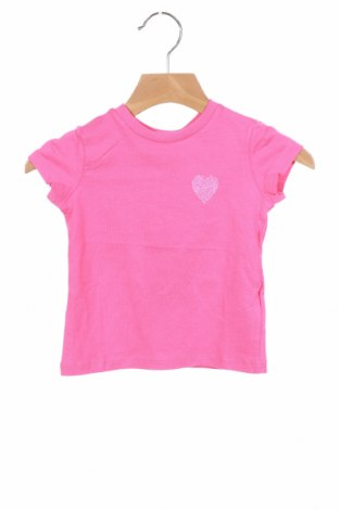 Детска тениска Chicco, Размер 9-12m/ 74-80 см, Цвят Розов, 95% памук, 5% еластан, Цена 11,70лв.
