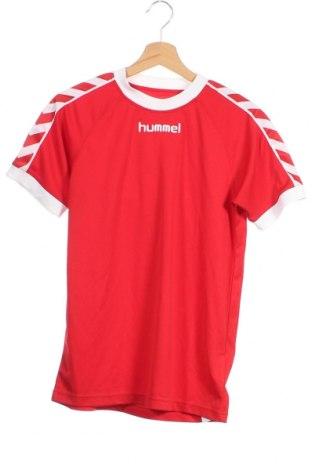 Dětské tričko  Hummel, Velikost 15-18y/ 170-176 cm, Barva Červená, Polyester, Cena  244,00Kč