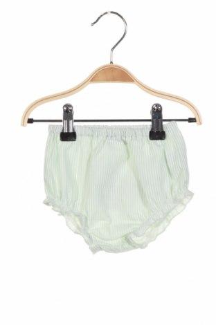 Детски къс панталон Chicco, Размер 2-3m/ 56-62 см, Цвят Зелен, 74% полиестер, 26% памук, Цена 16,20лв.