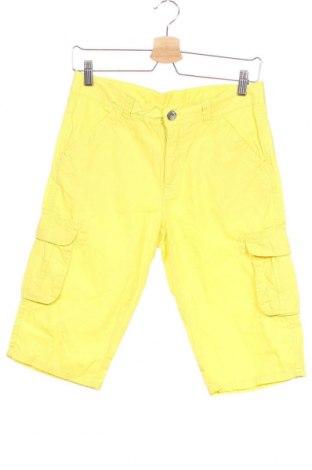 Детски къс панталон WE, Размер 12-13y/ 158-164 см, Цвят Жълт, Памук, Цена 16,07лв.