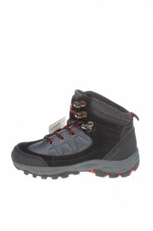 Детски обувки, Размер 31, Цвят Сив, Еко кожа, текстил, Цена 34,81лв.