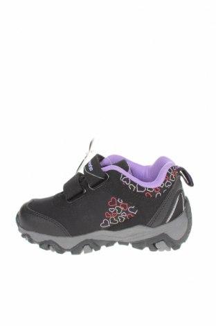 Детски обувки, Размер 25, Цвят Черен, Текстил, еко кожа, Цена 24,81лв.