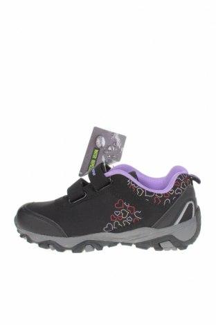 Детски обувки, Размер 35, Цвят Черен, Текстил, еко кожа, Цена 24,81лв.