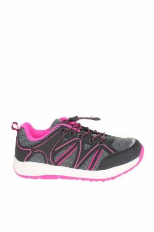 Детски обувки Alpine Pro, Размер 32, Цвят Черен, Полиуретан, текстил, еко кожа, Цена 43,45лв.