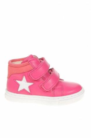 Παιδικά παπούτσια Bisgaard, Μέγεθος 21, Χρώμα Ρόζ , Γνήσιο δέρμα, Τιμή 16,39€