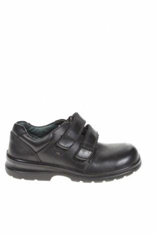 Детски обувки Clarks, Размер 27, Цвят Черен, Естествена кожа, Цена 22,95лв.