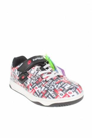 Детски обувки Lotto, Размер 33, Цвят Многоцветен, Еко кожа, Цена 44,25лв.