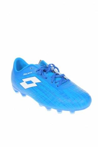 Детски обувки Lotto, Размер 37, Цвят Син, Еко кожа, Цена 32,43лв.