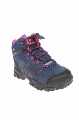 Детски обувки Lotto, Размер 29, Цвят Син, Текстил, естествена кожа, еко кожа, Цена 38,71лв.