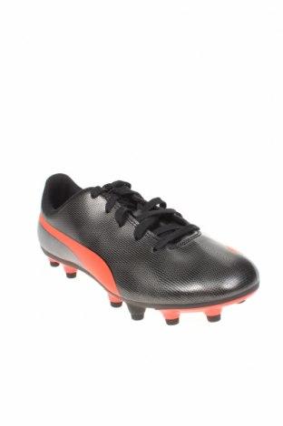 Детски обувки PUMA, Размер 34, Цвят Черен, Еко кожа, Цена 24,71лв.