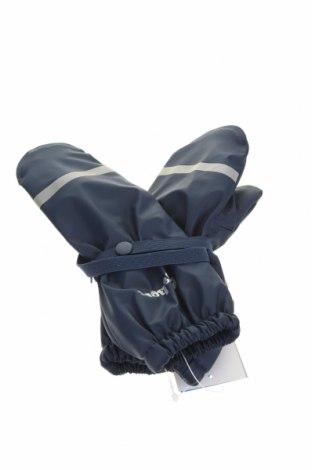 Детски ръкавици Playshoes, Цвят Син, Полиестер, Цена 20,16лв.